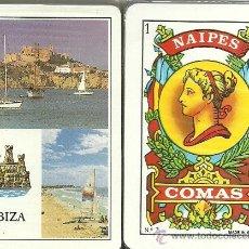 Barajas de cartas: IBIZA - BARAJA ESPAÑOLA 50 CARTAS. Lote 29242440