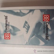 Barajas de cartas: BARAJA CON PROPAGANDA DE LAS FERRETERIAS CADENA 88. Lote 29247278