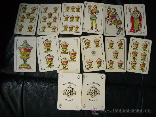 Barajas de cartas: INTERESANTE BARAJA,NAIPES IBERIA.VALENCIA C.F.COMPLETA 50 CARTAS.FUTBOL.BIEN CONSERVADA. - Foto 2 - 29297087