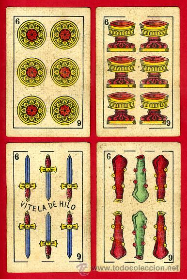 Barajas de cartas: BARAJA NAIPES EL HERALDO, DE SEGUNDO OLEA , CADIZ PARA EXPORTACION , COMPLETA , 40 CARTAS, ORIGINAL, - Foto 8 - 29291594