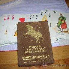 Barajas de cartas: BARAJA TAURINA MEXICANA CLASICA VER FOTOS. Lote 29393615
