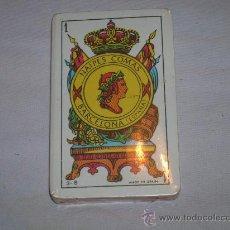 Barajas de cartas: BARAJA TIPO ESPAÑOL COMAS PRECINTADA 3-S. Lote 29410020