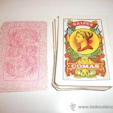 Barajas de cartas: BARAJA DE CARTAS NAIPES COMAS Nº 6. Lote 29457963