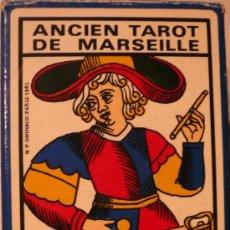 Barajas de cartas: ANCIEN TAROT DE MARSEILLE. Lote 29563333