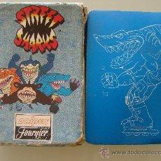 Barajas de cartas: BARAJA DE CARTAS FOURNIER. DIBUJOS ANIMADOS STREET SHARKS. TIBURONES. 1996. . Lote 29485713