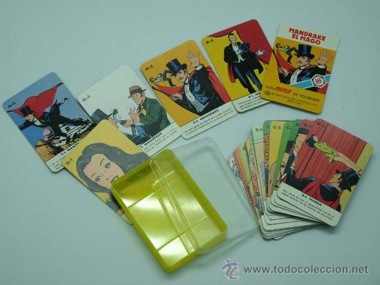MINI BARAJA MINIS DE FOURNIER MANDRAKE EL MAGO Nº 12 HERACLIO FOURNIER 1978 (Juguetes y Juegos - Cartas y Naipes - Barajas Infantiles)