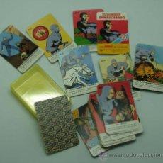 Barajas de cartas: MINI BARAJA MINIS DE FOURNIER EL HOMBRE ENMASCARADO Nº 10 HERACLIO FOURNIER 1978. Lote 29540827
