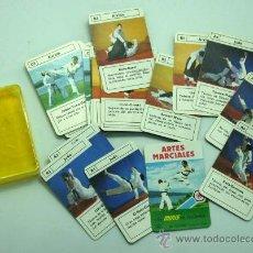 Barajas de cartas: MINI BARAJA MINIS DE FOURNIER ARTES MARCIALES Nº 8 HERACLIO FOURNIER 1978. Lote 29540999