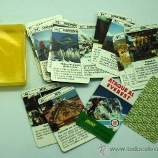 Barajas de cartas: MINI BARAJA MINIS DE FOURNIER ATAQUE AL EVEREST Nº 5 HERACLIO FOURNIER 1978. Lote 29541011
