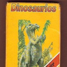 Barajas de cartas: DINOSAURIOS BARAJA NAIPES FOURNIER Y PLANETA 1993. Lote 39481250