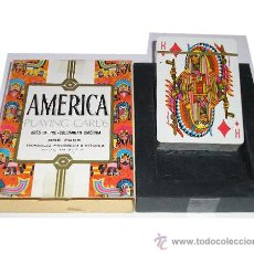 Barajas de cartas: BARAJA AMERICA HERACLIO FOURNIER - VICTORIA - NUEVO A ESTRENAR. Lote 29597482