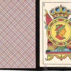 Barajas de cartas: BARAJA DE CARTAS - SEBASTIAN COMAS Y RICART- COMPLETA 40 CARTAS - VER FOTOS ADICIONALES - (CR-76). Lote 29622066