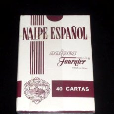Barajas de cartas: BARAJA NAIPE CARTAS FOURNIER - 40 CARTAS - CAJA ESPAÑA - NAIPES. Lote 29770491