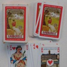 Baralhos de cartas: BARAJA PUBLICIDAD CARBONELL VER FOTOS ADICCIONALES. Lote 29792261