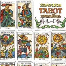 Barajas de cartas: TAROT SPANISH DE LA REVISTA EL JUEVES-AÑO 1990.-. Lote 101629090