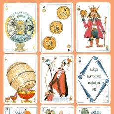 Barajas de cartas: BARAJA DE CARTAS BARTOLOMÉ. ASESCOIN 1992. NAIPES. PLAYING CARDS. SPIELKARTEN.. Lote 29921890