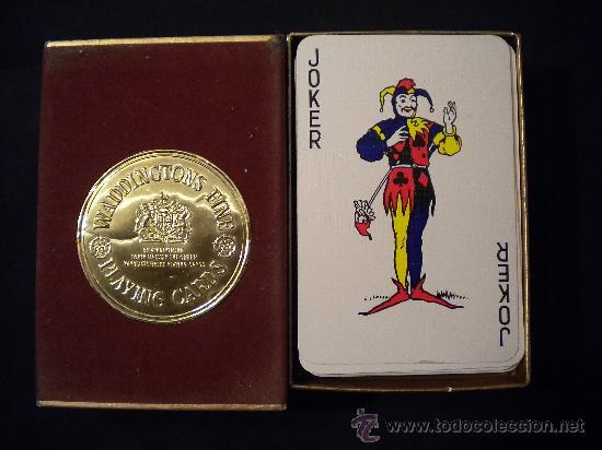 Barajas de cartas: Baraja de cartas Waddingtons fine Playing cards. - Foto 2 - 29976374