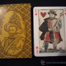 Barajas de cartas: BARAJA DE CARTAS FRANCESA JEU HENRI IV.. Lote 29976688