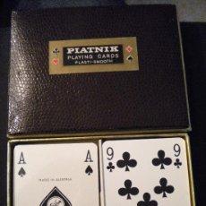 Barajas de cartas: BARAJA DOBLE DE CARTAS DE AUSTRIA PIATNIK VIENNA.. Lote 29976791