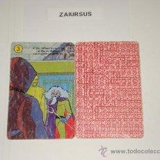 Barajas de cartas: MAZINGER Z / CARTA NAIPE HERACLIO FOURNIER Nº 3 PALO AMARILLO - ORIGINAL BARAJA AÑOS 70!!!!. Lote 29999313