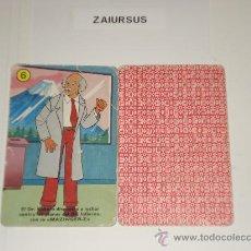 Barajas de cartas: MAZINGER Z / CARTA NAIPE HERACLIO FOURNIER Nº 6 PALO AMARILLO - ORIGINAL BARAJA AÑOS 70!!!!. Lote 29999397