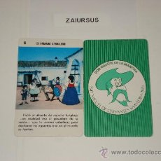 Barajas de cartas: DON QUIJOTE DE LA MANCHA / CARTA NAIPE HERACLIO FOURNIER Nº 6 - ORIGINAL DE ANTIGUA BARAJA AÑO 1979!. Lote 30051139