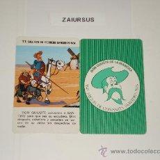 Barajas de cartas: DON QUIJOTE DE LA MANCHA / CARTA NAIPE HERACLIO FOURNIER Nº 11 ORIGINAL DE ANTIGUA BARAJA AÑO 1979!!. Lote 30051307