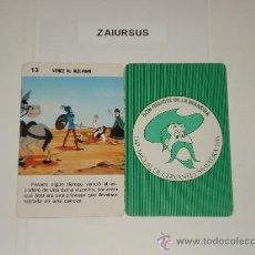 Barajas de cartas: DON QUIJOTE DE LA MANCHA / CARTA NAIPE HERACLIO FOURNIER Nº 13 ORIGINAL DE ANTIGUA BARAJA AÑO 1979!!. Lote 30051349