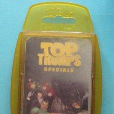 Jeux de cartes: BARAJA INFANTIL TOP TRUMPS SPECIAL. SUPER HEROES. JOKER, AQUAMAN, GREEN LANTERN, PARALLAX. . Lote 30168112
