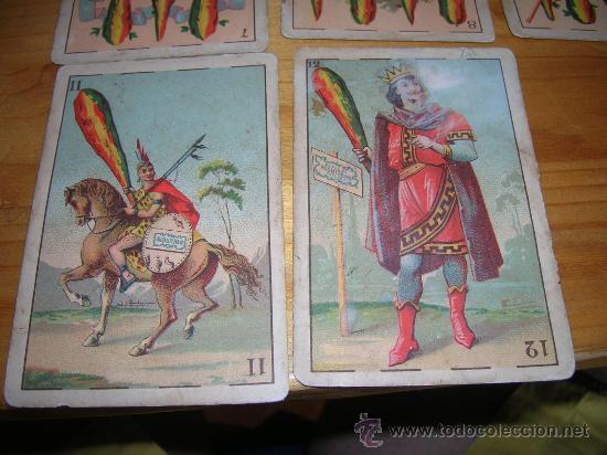 Barajas de cartas: EXCEPCIONALMENTE BONITA Y RARA BARAJA CONOCIDA COMO DEL ALQUITRAN NORUEGO 1880 LEER DESCRIPCION - Foto 7 - 30144707