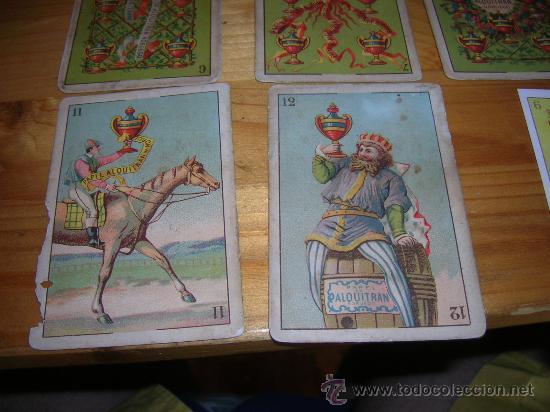 Barajas de cartas: EXCEPCIONALMENTE BONITA Y RARA BARAJA CONOCIDA COMO DEL ALQUITRAN NORUEGO 1880 LEER DESCRIPCION - Foto 10 - 30144707