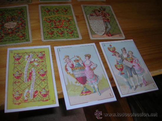 Barajas de cartas: EXCEPCIONALMENTE BONITA Y RARA BARAJA CONOCIDA COMO DEL ALQUITRAN NORUEGO 1880 LEER DESCRIPCION - Foto 11 - 30144707