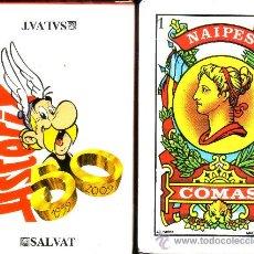 Barajas de cartas: ASTERIX - BARAJA ESPAÑOLA 40 CARTAS. Lote 47056931