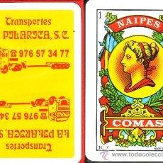 Barajas de cartas: TRANSPORTES LA PILARICA - BARAJA ESPAÑOLA 40 CARTAS. Lote 30210661