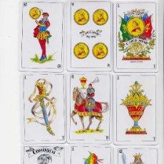 Barajas de cartas: BARAJA ESPAÑOLA DE LAS CINCO JOTAS. Lote 42920104