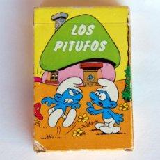 Barajas de cartas: BARAJA INFANTIL DE EDICIONES RECREATIVAS. EL JUEGO DE LOS PITUFOS. 1980. Lote 30381437