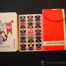 Barajas de cartas: RARA BARAJA DE CARTAS,JAPAN AIR LINES.. Lote 30359367