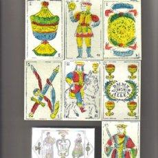 Barajas de cartas: BARAJA ESPAÑOLA DE MANUEL MARIA VALLEJO-TORRECILLA EN CAMEROS-AÑO 2011. Lote 297097873