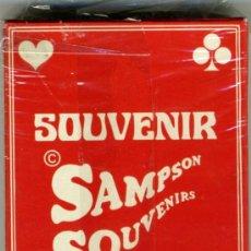 Barajas de cartas: CARTAS DE POKER - SOUVENIR. Lote 30397467