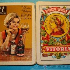 Mazzi di carte: BARAJA CARTAS ESPAÑOLA. FOURNIER. BRANDY ESPLÉNDIDO ESPECIAL GARVEY. MUJER RUBIA. AÑOS 60 -70. . Lote 30501031
