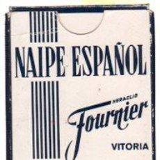 Barajas de cartas: BARAJA ESPAÑOLA DE NAIPES, CON PUBLICIDAD BRANDY SOBERANO. Lote 30532657