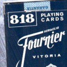 Barajas de cartas: BARAJA ESPAÑOLA DE NAIPES, FOURNIER. Lote 30532809