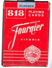BARAJA ESPAÑOLA POKER, FOURNIER (Juguetes y Juegos - Cartas y Naipes - Barajas de Póker)