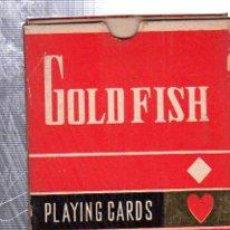 Barajas de cartas: BARAJA DE CARTAS DE POKER, ILUSTRACIÓN JAPONESA, GOLD FISH, TRADE MARK. Lote 30533263