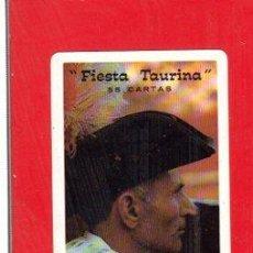 Barajas de cartas: BARAJA DE CARTAS FIESTA TAURINA, FOURNIER. Lote 30533573