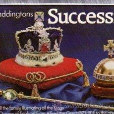 Barajas de cartas: BARAJA DE CARTAS INGLESA, KINGS AND QUEENS, SUCCESSION. Lote 30533820