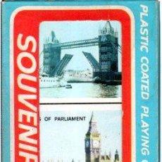 Barajas de cartas: DOS BARAJAS DE CARTAS, SOUVENIR ENGLAND. Lote 30533932