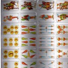Barajas de cartas: BARAJA MINIATURA ESPAÑOLA DE NAIPES, FOURNIER, CARTÓN. Lote 30534077
