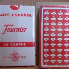 Barajas de cartas: PRECINTADA¡¡¡ BARAJA DE CARTAS NAIPE ESPAÑOL - BANCO SANTANDER - HERACLIO FOURNIER -. Lote 30595475
