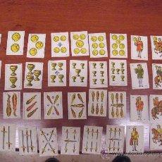 Barajas de cartas: BARAJA ESPAÑOLA MUNIATURA. 40 CARTAS. BARCELONA 1964. Lote 30662930